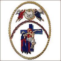 emblema Sacramental y Penitencial Cofradía de Nuestro Padre Jesús Sacramentado y María Sª de la